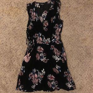 Lulu's wrap dress. Worn once! Perfect shape!!!!
